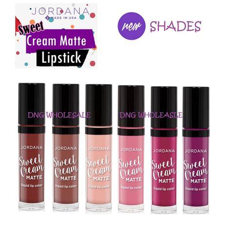 Jordana Sweet Liquid Lip Paint 6 new shades set jordana sweet matte liquid lip color lipstick lip gloss ebay