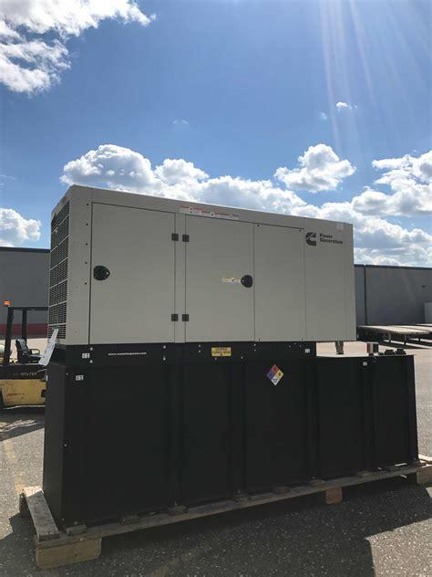 new cummins 125kw diesel generator c125 d6c fetting power inc