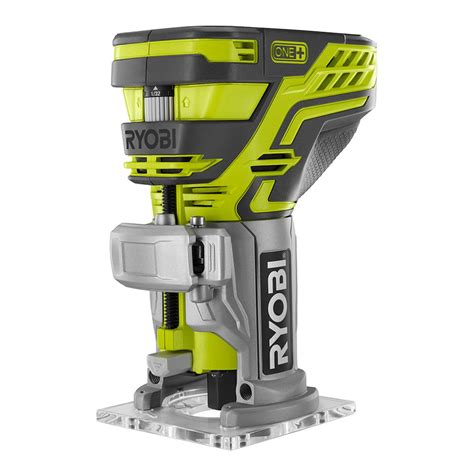 Diy Kitchen Lighting Ideas by Ryobi 18 Volt One Trim Router Bare Tool P601 The Home