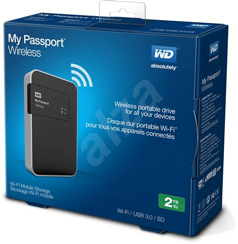 My Digital 2 western digital 2 5 quot my passport wireless 2000 gb black