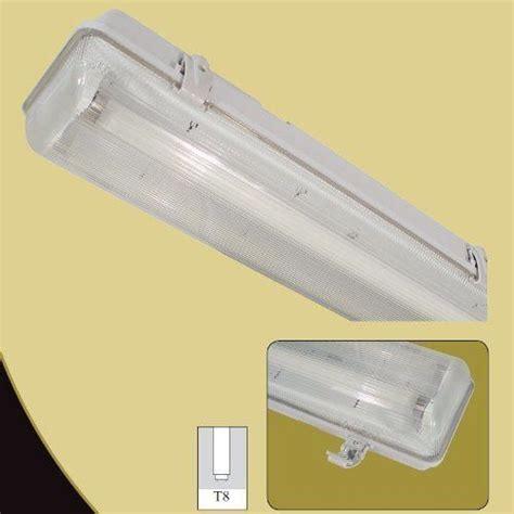 4ft double fluorescent light fittings single twin double weatherproof waterproof non corrosive