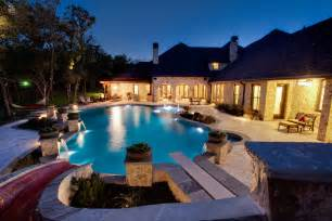 Backyard Pools With Waterfalls Set Design Swimming Pool Large And Luxury House Design Ideas