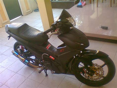 As Roda Depan Revo Absolute modifikasi motor absolute revo racing look black modifikasi motor