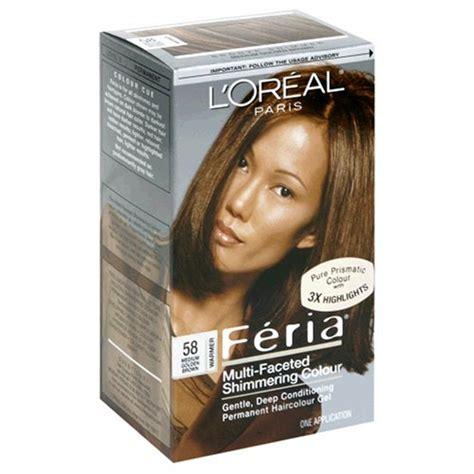 l oreal feria multi faceted shimmering color light golden brown 63 1 ea