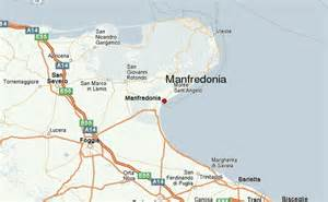 map of foggia italy manfredonia location guide