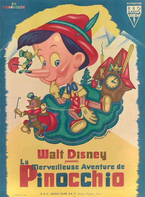 Pinocchio (1940)   Original Vintage Film Poster   Love eXcellence   Art   Best Gifts