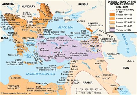 end of ottoman empire ottoman empire facts history map the empire from