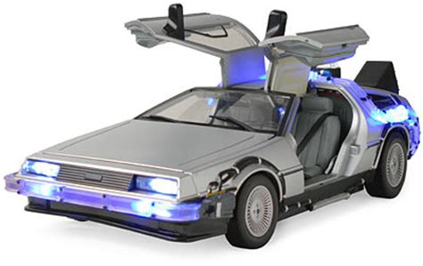 Back to the future car back to the future lights and