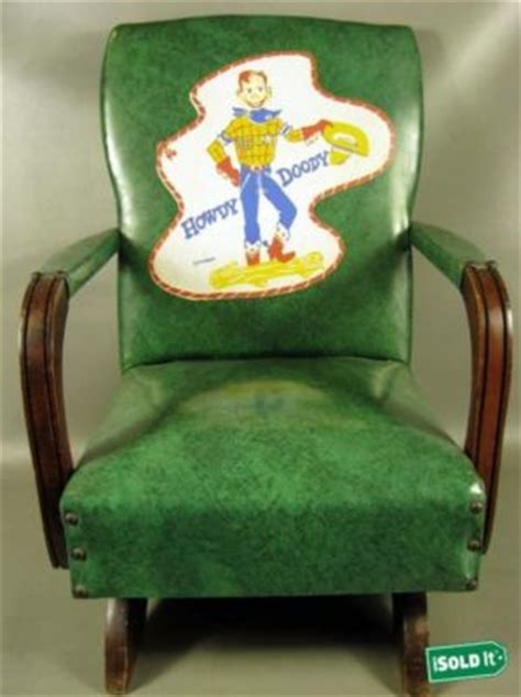 Howdy Doody Rocking Chair by Antique Toys Hq Price Guide