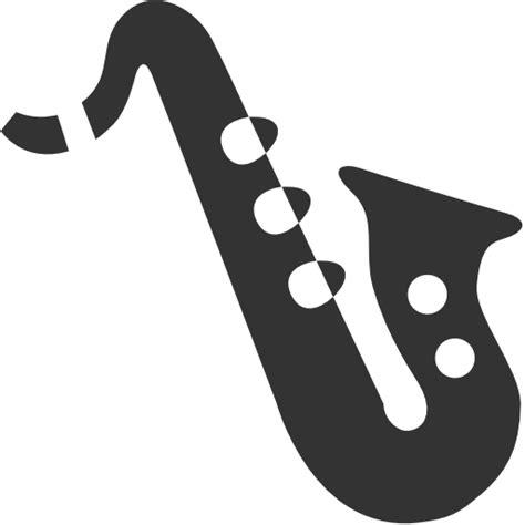 saxophone icon music alto saxophone icon icons8 metro style iconset