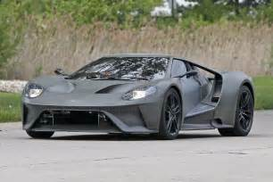 sighting 2016 ford gt hits the road by car magazine