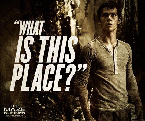 maze runner film price thomas maze runner quotes quotesgram