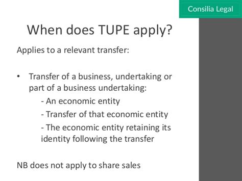 Letter To Employee Following Tupe Transfer Your Guide To Tupe Legislation