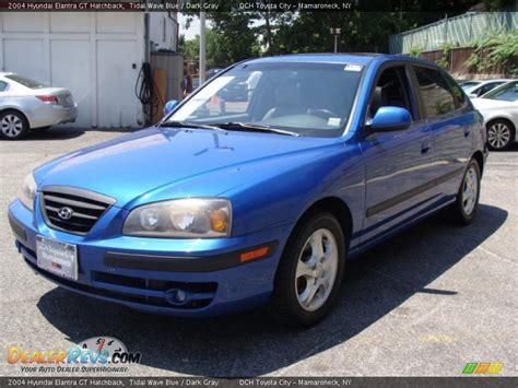2004 Hyundai Elantra Gt by 2004 Hyundai Elantra Gt Hatchback Tidal Wave Blue