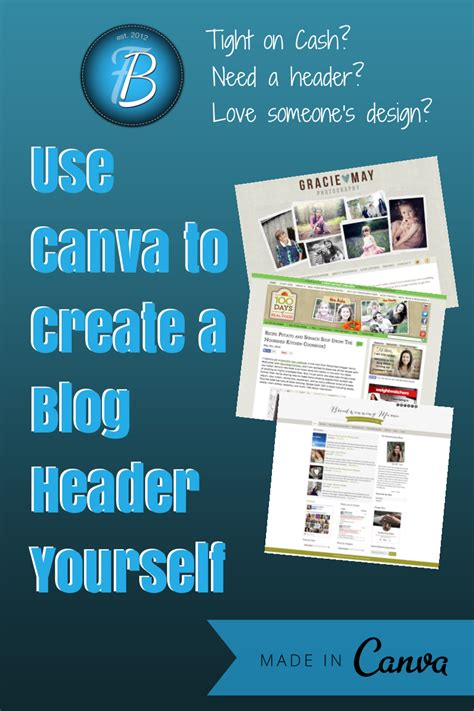 canva header using canva to create a header for your blog