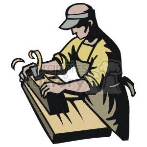 carpenter   wood planer clipart royalty  clipart