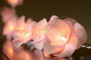 flower lights 20 light pink flower battery operated led