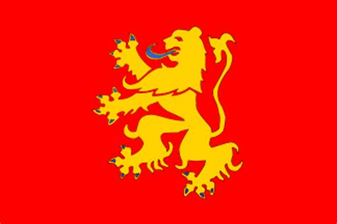 flags of the world lion valenciennes municipality nord france