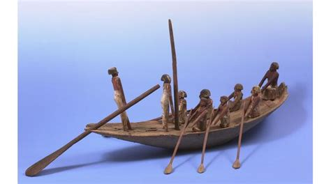 egyptian soul boat bbc a history of the world object egyptian funerary boat