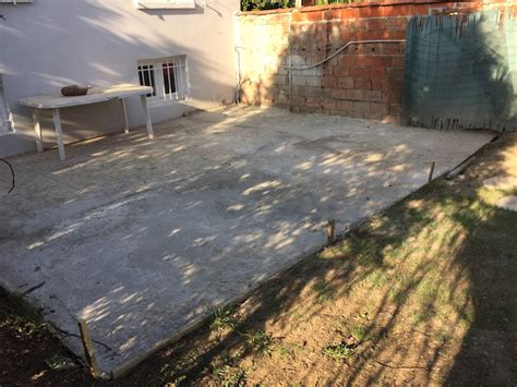 Extension Terrasse Beton b 233 ton extension d une terrasse 94