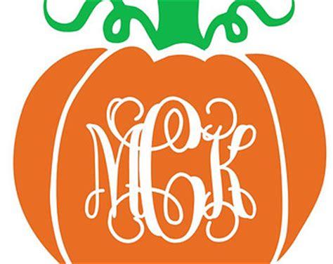 monogram pumpkin templates pumpkin monogram vinyl decal