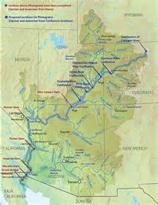 colorado river location on map velo map of colorado river from headwaters in