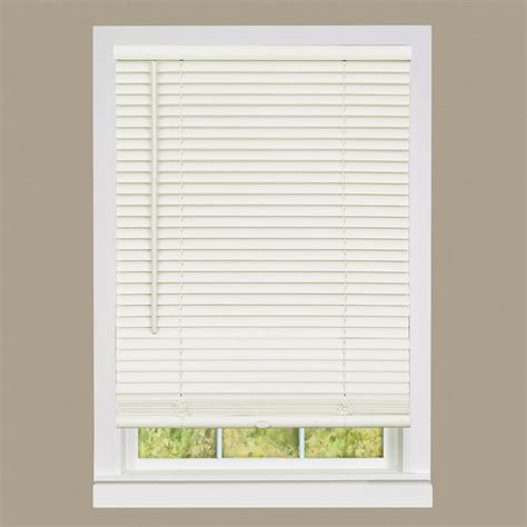 Cordless Window Blinds by Bali Grab N Go White 1 In Light Filtering Vinyl Mini