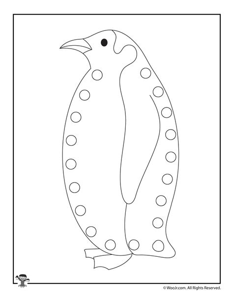 printable animal lacing cards penguin woo jr kids activities