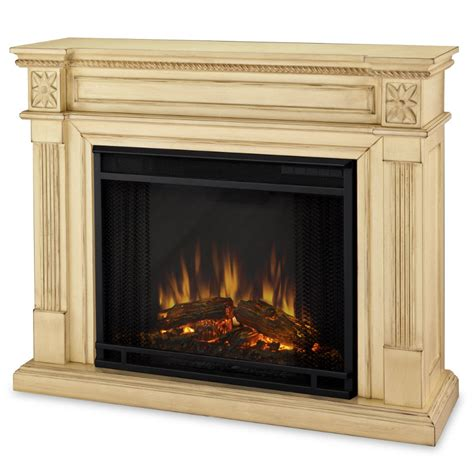 White Electric Fireplace Electric Fireplaces From Portablefireplace