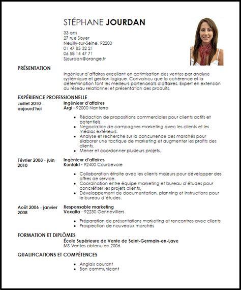 Lettre De Présentation Ingénieur Exemple Cv Ing 233 Nieur D Affaires Livecareer