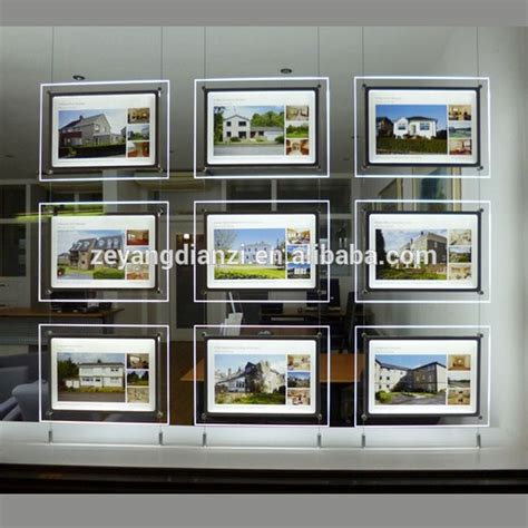 lighted window displays frameless lightbox shop led lighted advertising window display view advertising window display