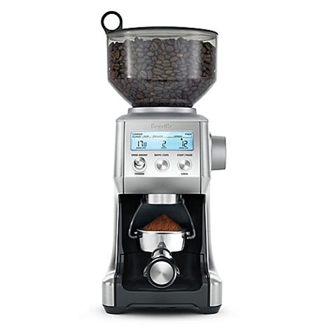 bed bath and beyond coffee grinder breville smart coffee grinder pro bed bath beyond