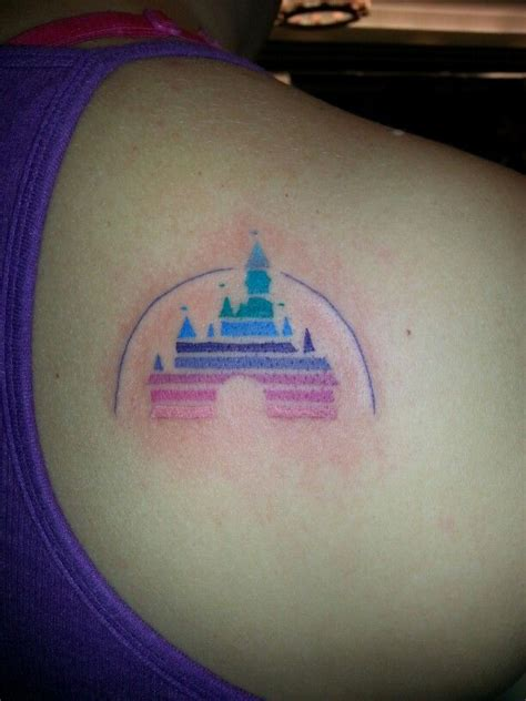 disney castle tattoos designs 25 b 228 sta id 233 erna om disney castle p 229
