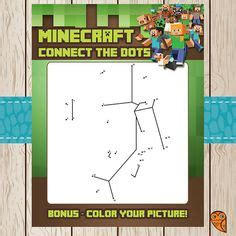 printable minecraft quiz color by numbers minecraft and printable coloring sheets