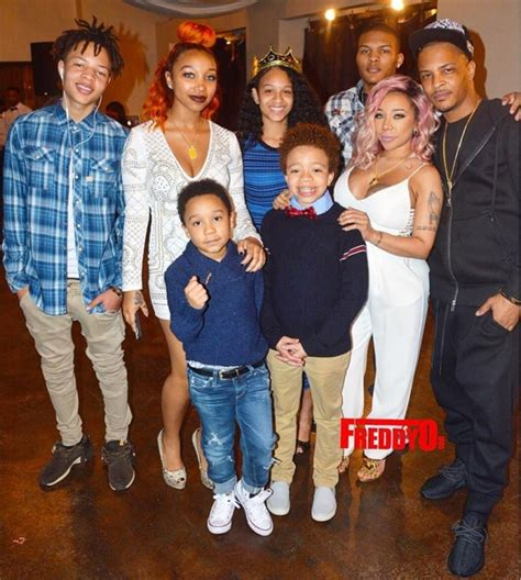 how old are tis kids t i and tiny harris baby shower pictures rolling out