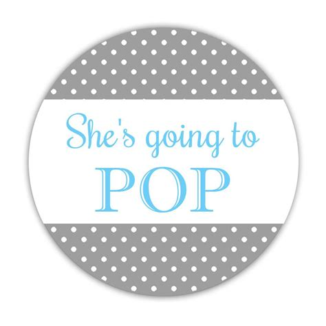 Ready To Pop Stickers Dazzling Daisies Ready To Pop Labels Template Free