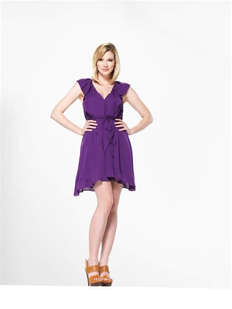 Bolby Dress april bowlby jaw dropping blond