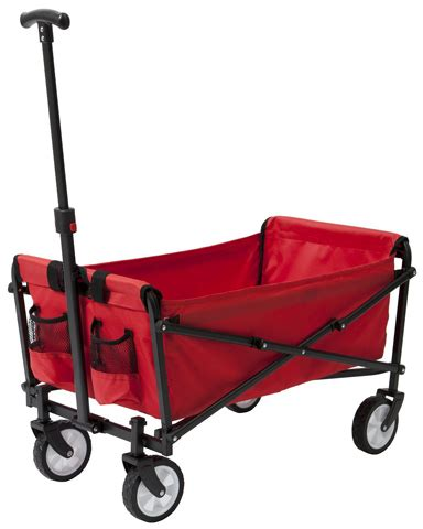 Origami Folding Wagon - foldable utility cart with wheels arksen collapsible