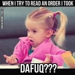 Funny Server Memes - restaurant memes