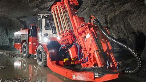 underground production longhole driller lady loretta  qld iminco