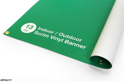 13 Oz Scrim Vinyl Banner 13oz scrim vinyl banner indoor or outdoor use primoprint