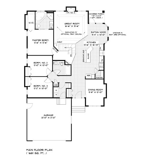 Large Bungalow Floor Plans | house plans bungalow modern house