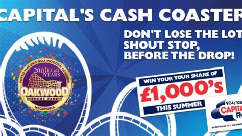 Win Big Money - win big money with the capital cash coaster capital south wales