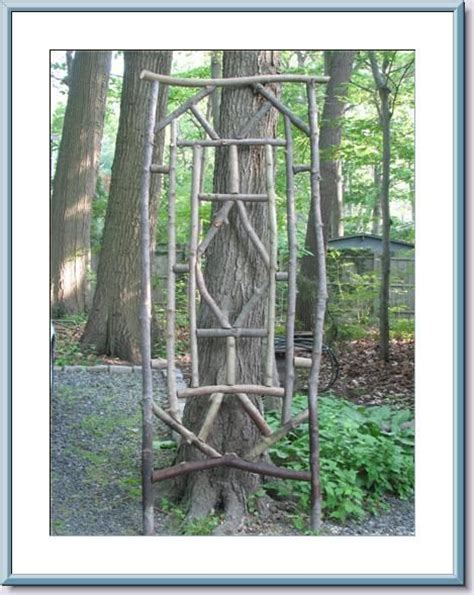 Twig Trellis Twig Trellis Outdoor Decor