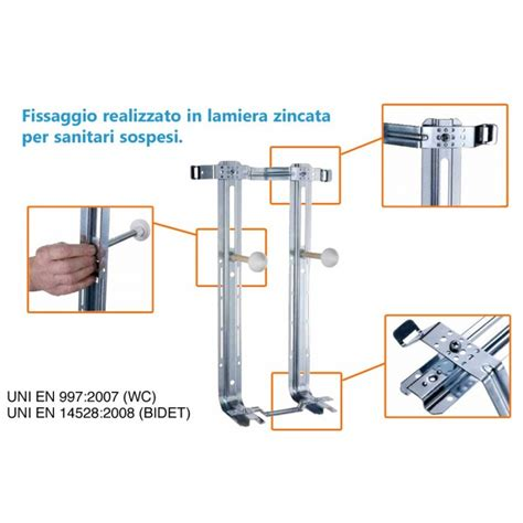Fissaggio Mobili Sospesi by Sanitari Sospesi Staffe Di Fissaggio