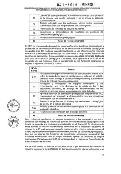 minedu tutoria 2016 rsg n 176 041 2016 minedu nt jec