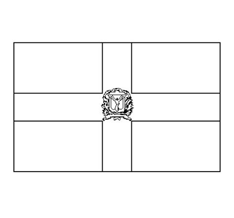 dominican republic flag coloring page dominican republic coloring page coloringcrew com