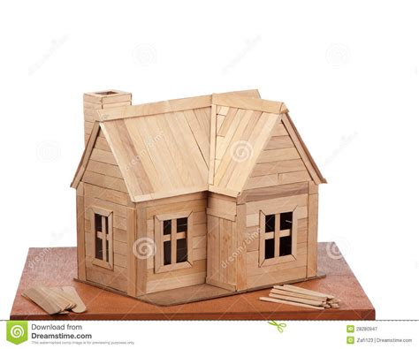 popsicle house plans popsicle house royalty free stock photography image 28280947