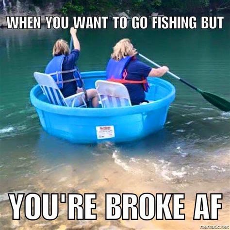 inflatable boat meme 15 must see hunting and fishing memes