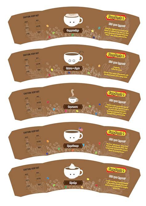 coffee cup design on behance coffee cup sleeve on behance